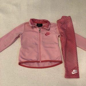 Toddler Nike jacket and matching pants